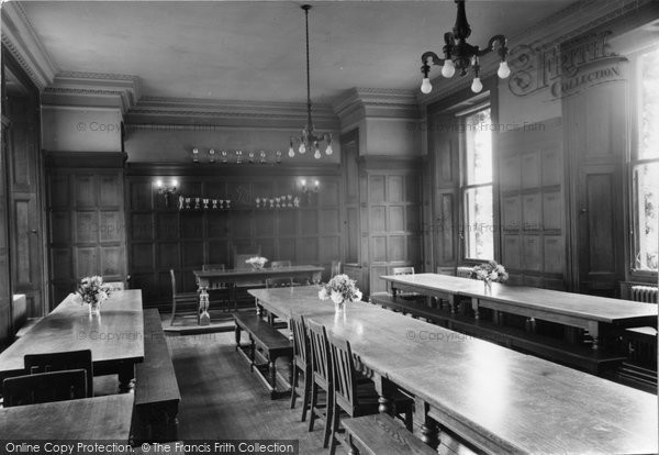 Photo of Abberley, Dining Room Of The Hall c.1950