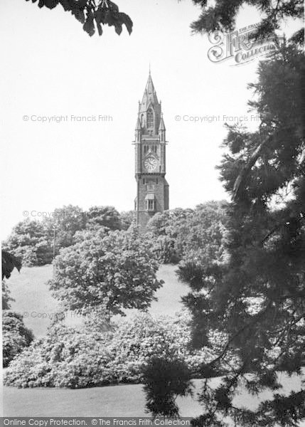 Photo of Abberley, Hall c.1955