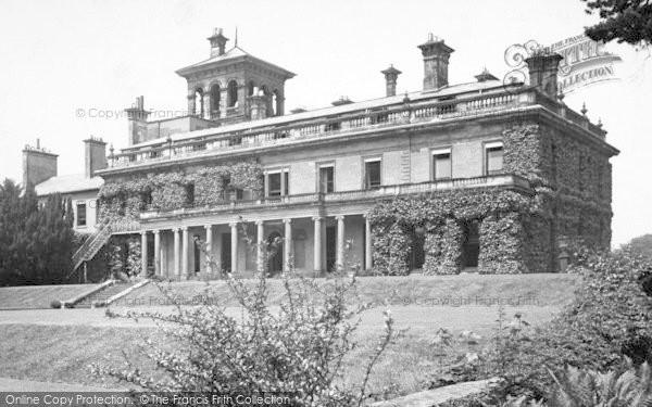 Photo of Abberley, Hall c.1955