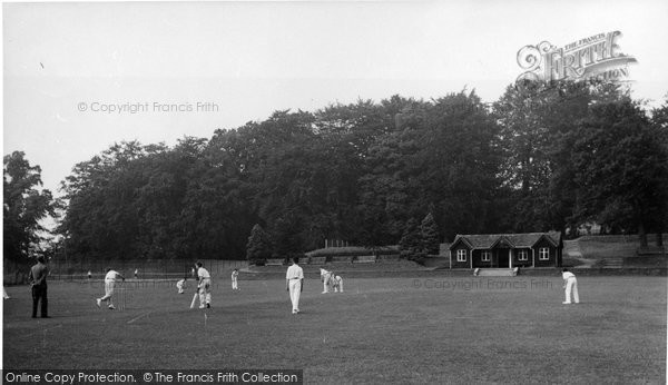Abberley, Hall, Cricket Field c.1955