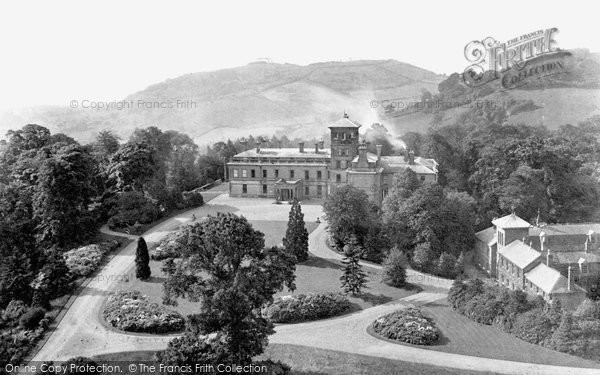 Photo of Abberley, Hall, From The Carillon Tower 1911