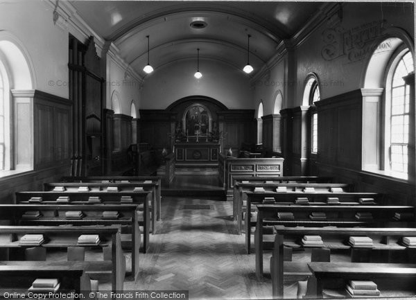 Photo of Abberley, Hall, The Chapel c.1950