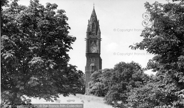 Photo of Abberley, Hall, The Clock Tower c.1955