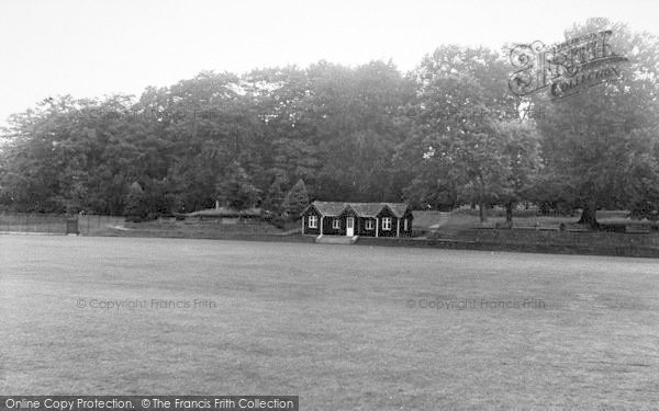 Photo of Abberley, Hall, The Cricket Field c.1955