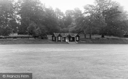 Abberley, Hall, The Cricket Field c.1955