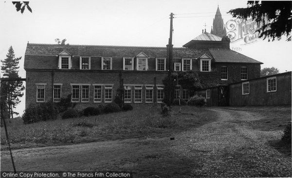 Photo of Abberley, Hall, The New Buildings c.1955
