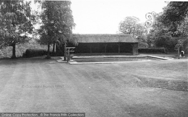 Photo of Abberley, Hall, The Swimming Pool c.1955