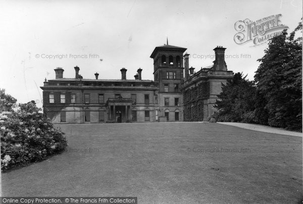 Photo of Abberley, North Front Of The Hall c.1950
