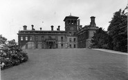 Abberley, North Front Of The Hall c.1950
