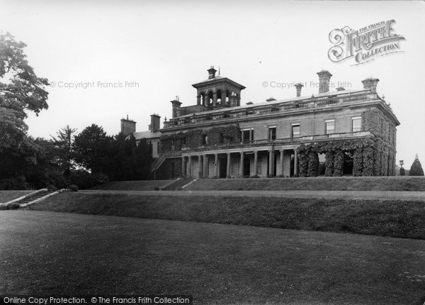 Photo of Abberley, South Front Of The Hall c.1950