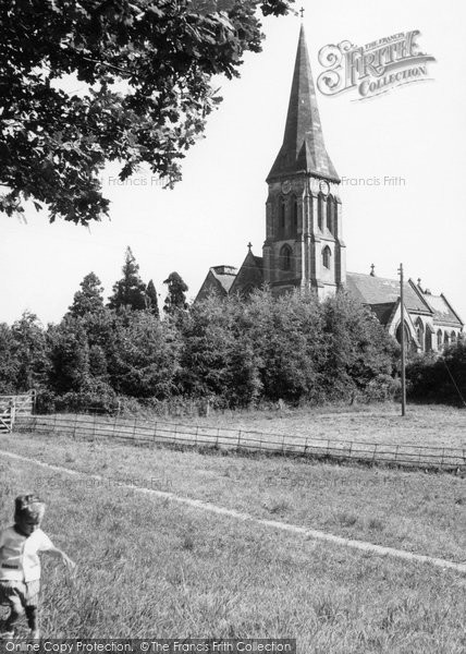 Photo of Abberley, St Mary's Church c.1960
