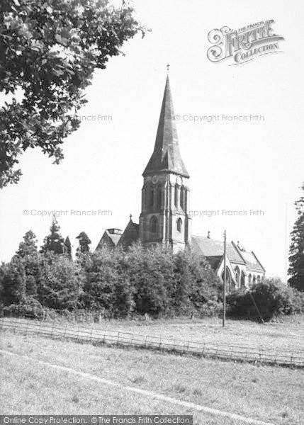 Photo of Abberley, St Mary's Church c.1960