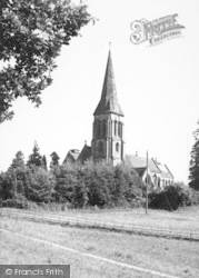 Abberley, St Mary's Church c.1960
