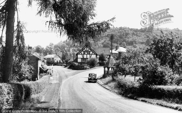 Photo of Abberley, The Village c.1955