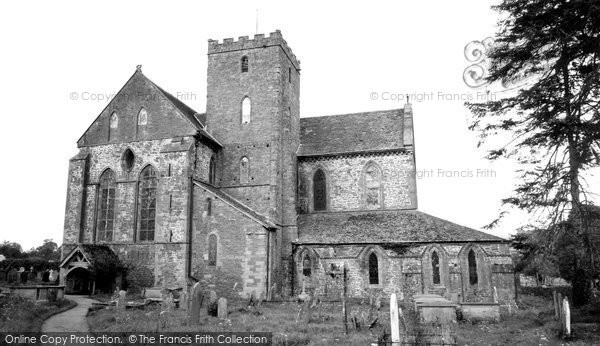 Photo of Abbey Dore, Dore Abbey c.1965