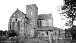 Abbey Dore, Dore Abbey c.1965