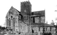 Abbey Dore, Holy Trinity And St Mary's Abbey Church 1898