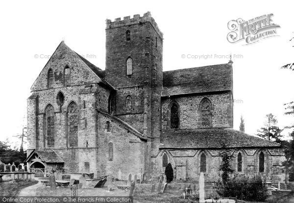 Abbeydore, Holy Trinity and St Mary's Abbey Church 1898