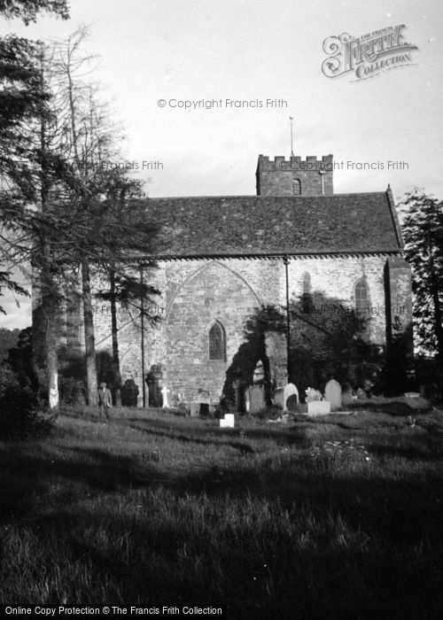 Photo of Abbey Dore, The Abbey 1948