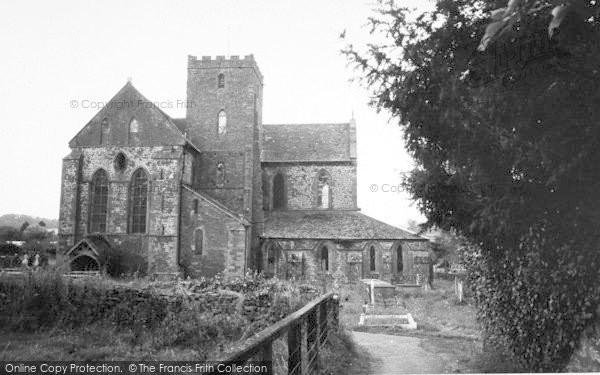 Photo of Abbey Dore, The Abbey c.1965