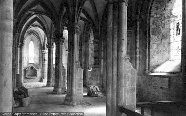 Photo of Abbey Dore, The Abbey Interior c.1935