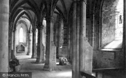 Abbey Dore, The Abbey Interior c.1935