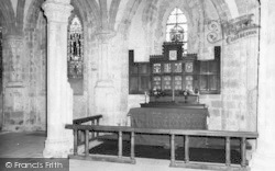 Abbey Dore, The Abbey Interior c.1965