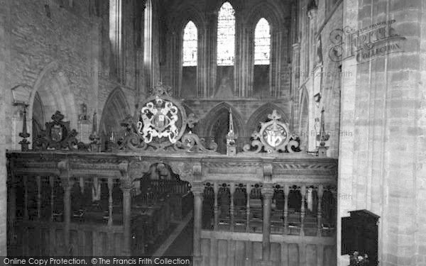 Photo of Abbey Dore, The Abbey Interior c.1965