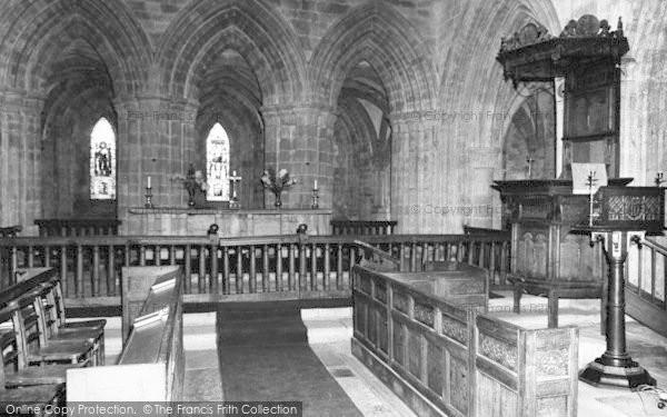 Photo of Abbey Dore, The Abbey Interior c.1965