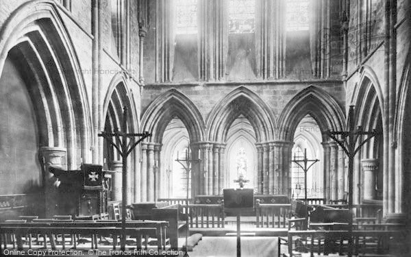 Photo of Abbey Dore, The Church Interior 1898
