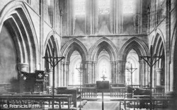 Abbey Dore, The Church Interior 1898