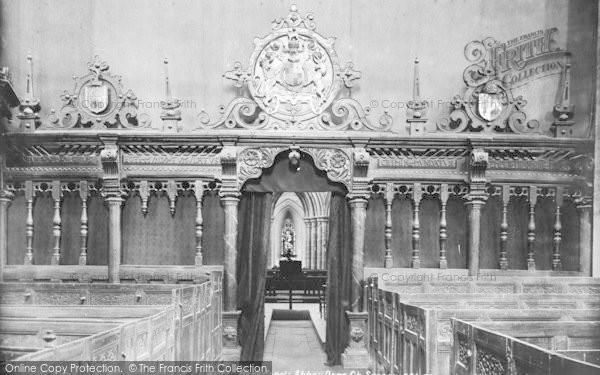 Photo of Abbey Dore, The Church Screen 1898