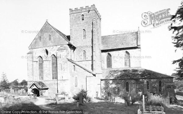 Photo of Abbey Dore, The Square c.1895