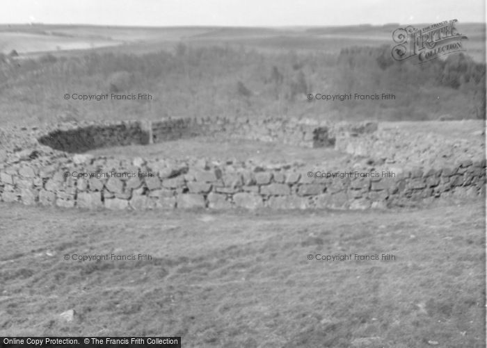 Photo of Abbey St Bathans, Edin's Hall Broch 1960