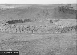Edin's Hall Broch 1960, Abbey St Bathans