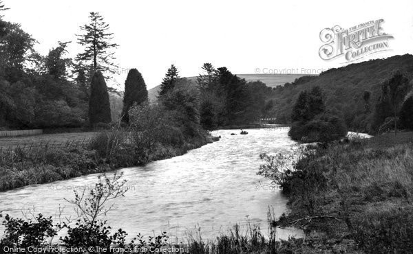 Photo of Abbey St Bathans, River And Weir c.1935