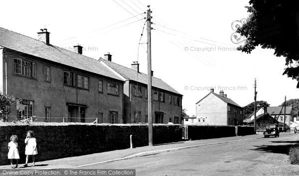 Photo of Abbeytown, New Houses c.1955