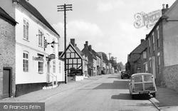 Abbots Bromley, Bagot Street 1963