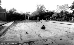 Abbots Bromley, College Swimming Pool c.1960