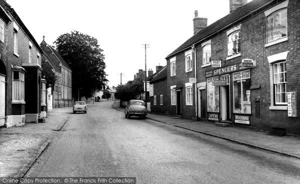 Abbots Bromley, High Street 1963