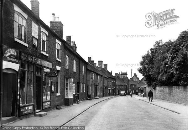 Photo of Abbots Bromley, High Street c.1955