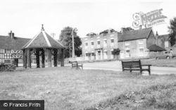Abbots Bromley, Market Cross c.1960