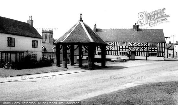 Photo of Abbots Bromley, Market Place c.1960