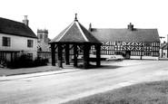Abbots Bromley, Market Place c.1960