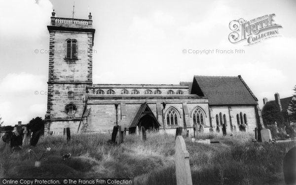 Photo of Abbots Bromley, St Nicholas Church c.1960