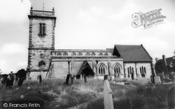 Abbots Bromley, St Nicholas Church c.1960