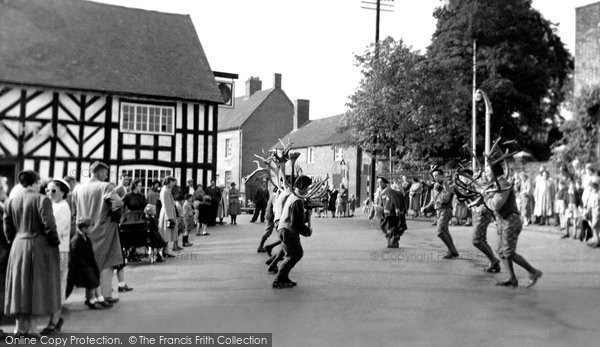 Photo of Abbots Bromley, the Annual Horn Dance c1955