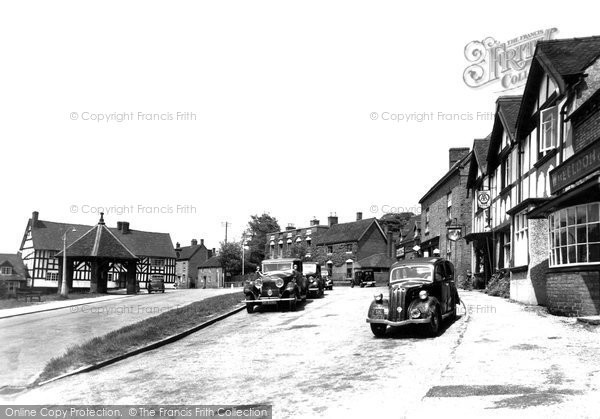 Photo of Abbots Bromley, The Market Place c.1955