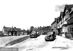 Abbots Bromley, The Market Place c.1955