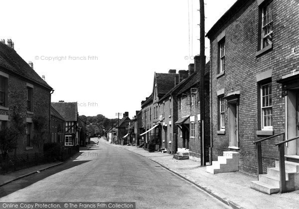 Photo of Abbots Bromley, The Village c.1955